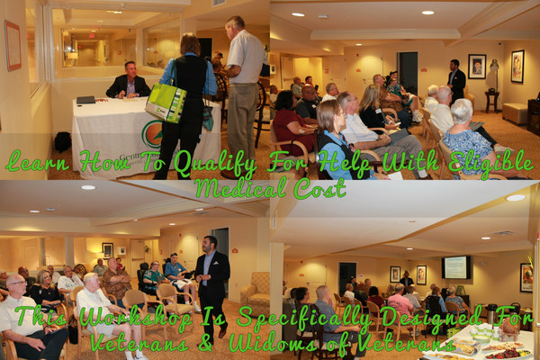 Gentry Park Orlando - VA Benefits Workshop Success