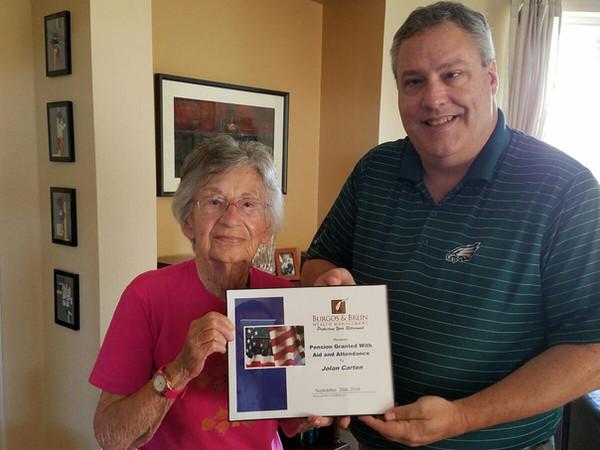 VA Pension Assistance = Success