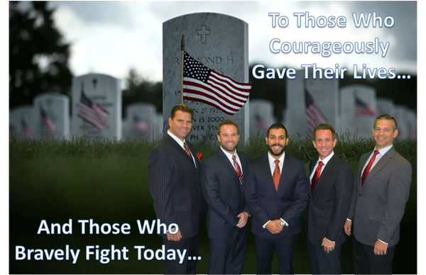 To our Veterans on Memorial Day