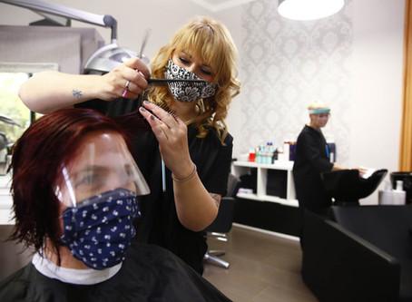 Wer schön sein will, braucht Maske - SZ-Artikel vom 04-05-2020