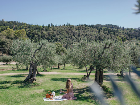 Hidden Picnic spot near Florence,Tuscany