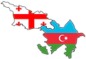 TO Azerbeijan Georgia
