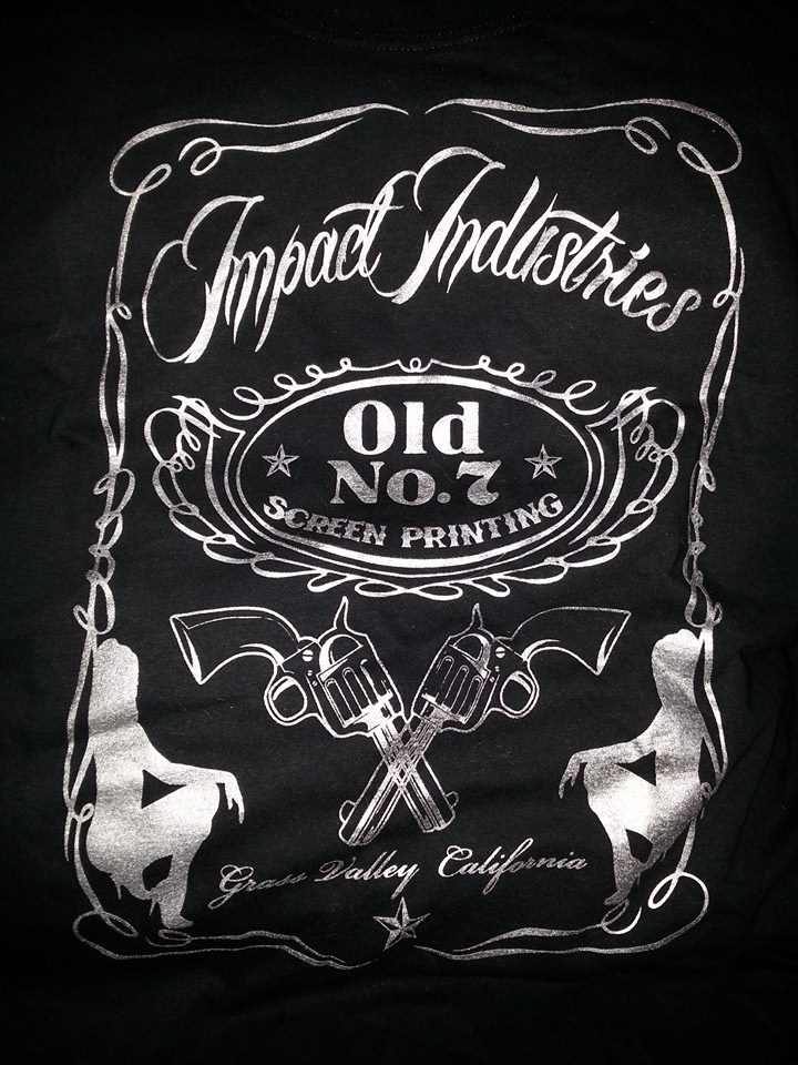 Impact Industries label logo