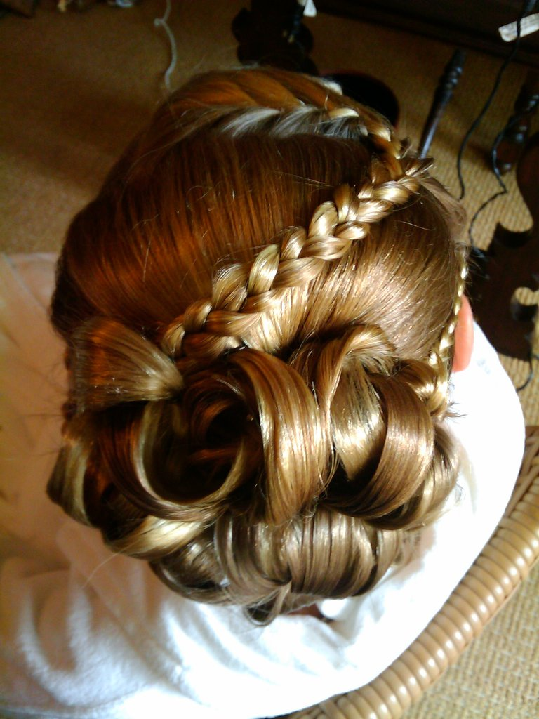 Flowergirl Hair