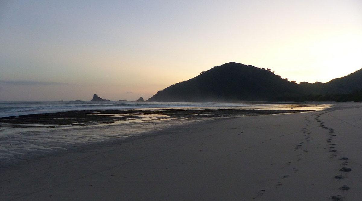Plage à Lombok