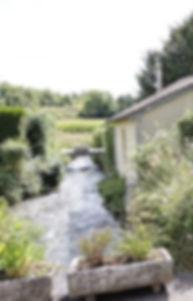Arrivée au Moulinde Pont Rû