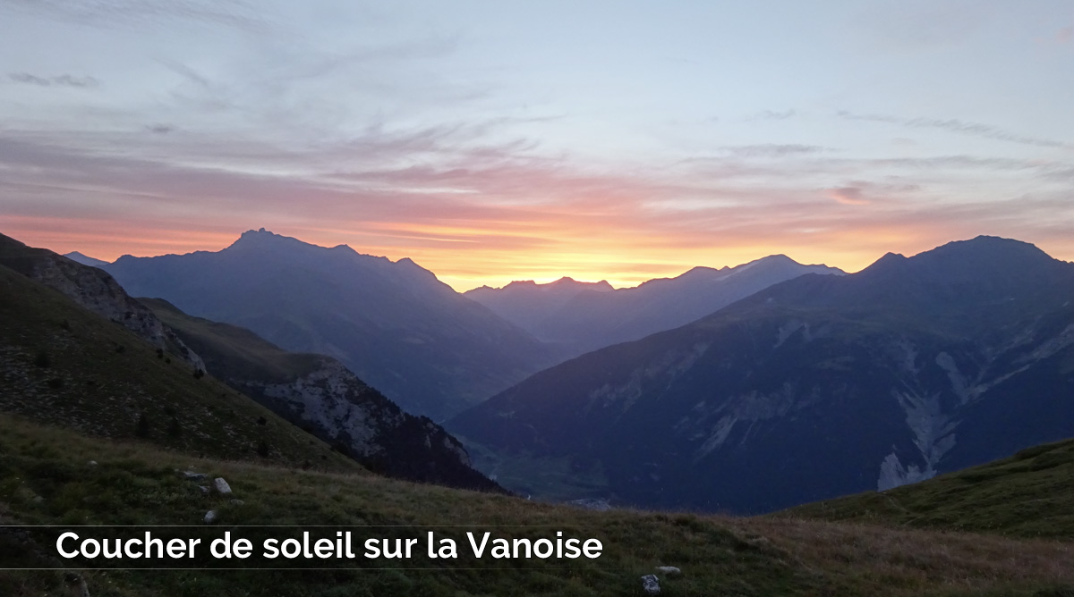 Coucher de soleil sur la Vanoise (20