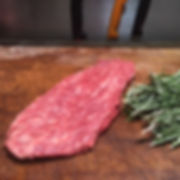 Black Angus Flat iron steak