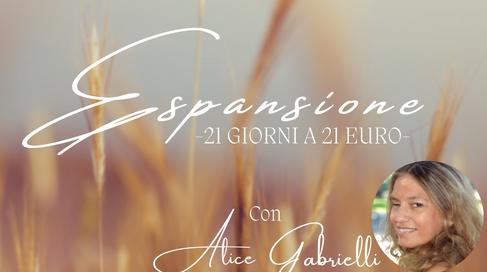 Espansione: 21 giorni a 21 euro