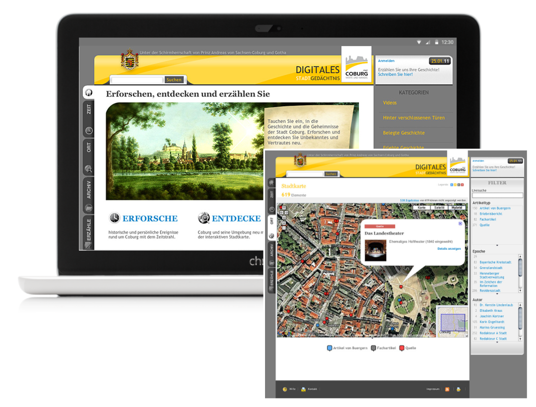 Digital Archive for the Citizens of Coburg