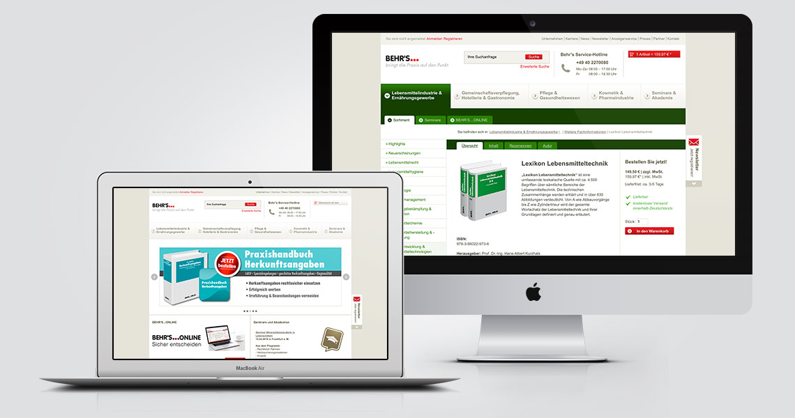 Behrs Online Store