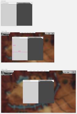 UI scaling - sample
