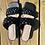 Thumbnail: Black Braided Sandals