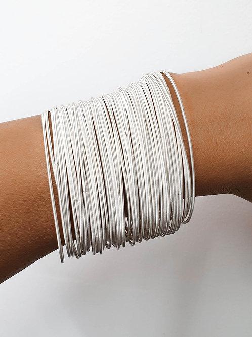 Silver Bella Bracelets