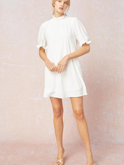 Little White Flowy Dress
