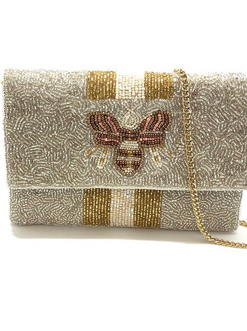 Silver Bee Bag