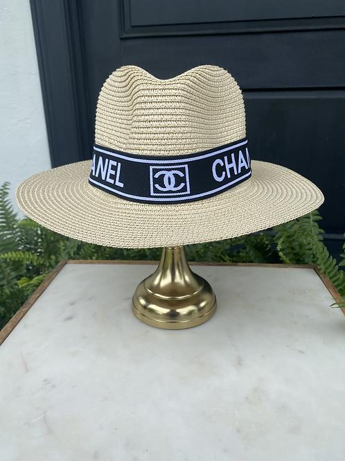 Tan Chanel Sun Hat