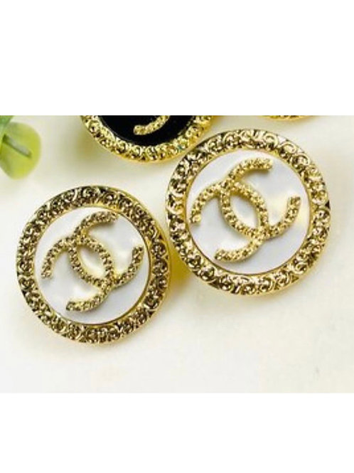 Hop To it Chanel Studs