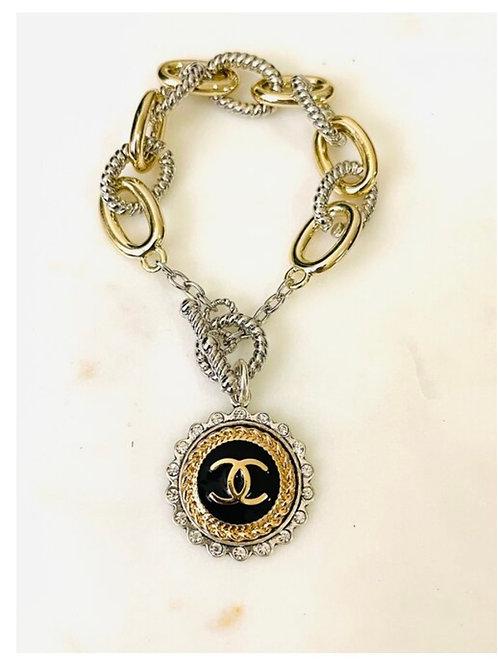 Chanel Mixed Metal Mania Bracelet