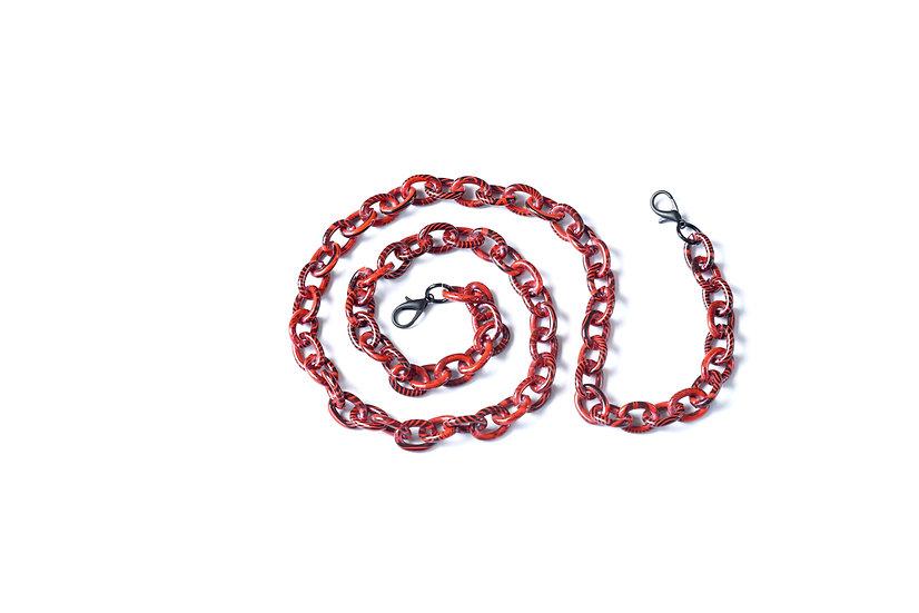 Red aluminium chain