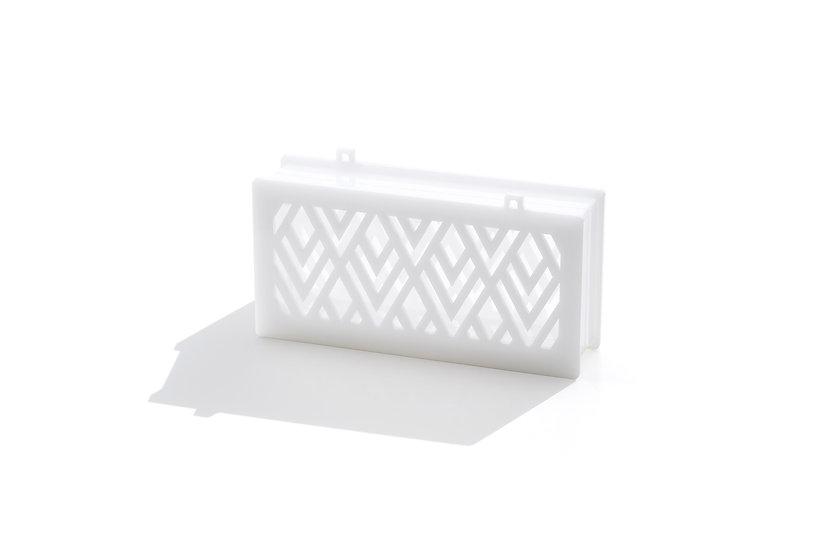 Asra in pure white