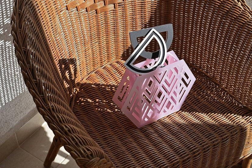 Augusta bag in iridescent pink