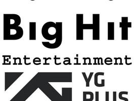 Big Hit e beNX investem 70 Bilhões de won na YG Plus!