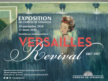"""""""Versailles Revival"""" du 19 novembre au 15 mars 2020"""
