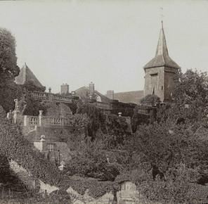 Les terrasses à l'italienne vers 1930