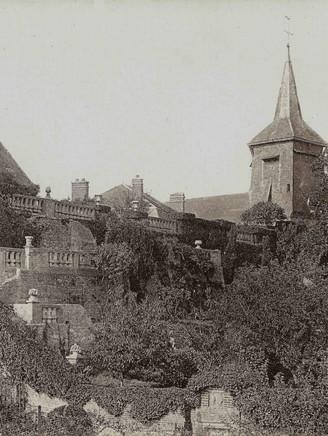 Terraces of Italian influence around 1907