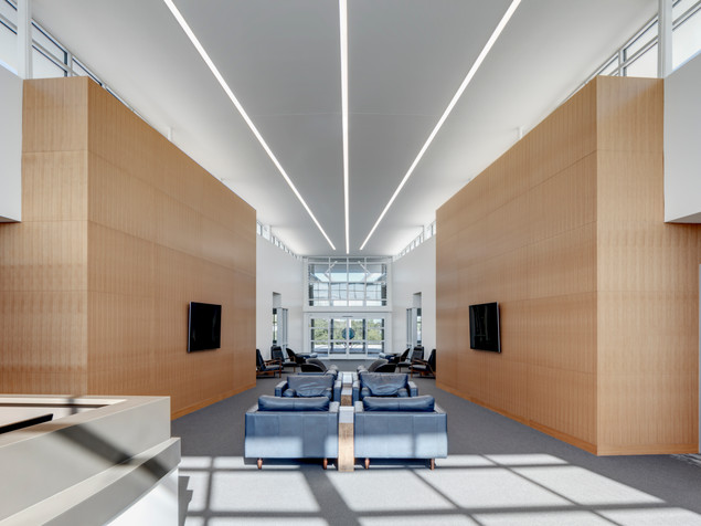 Comfortable New Main Lobby