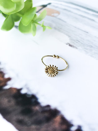 Be like a SunFlower Ring