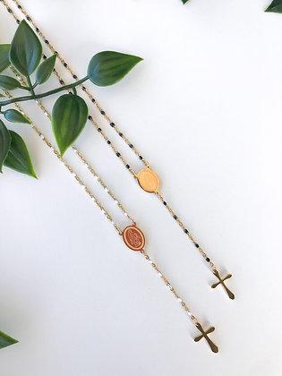 Rosário Mini Necklace