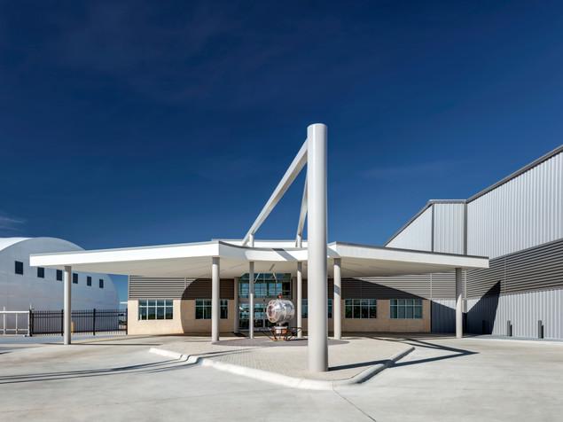 Astin Aviation GA Terminal Entrance