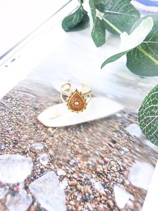 Peace Drop Ring
