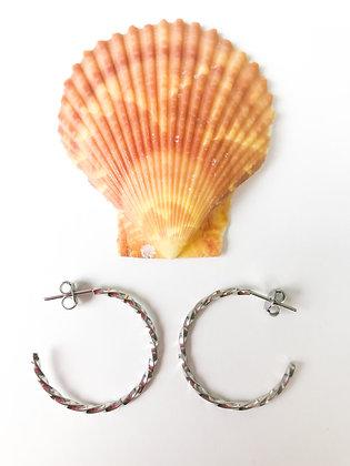 Lokahi Silver Earrings