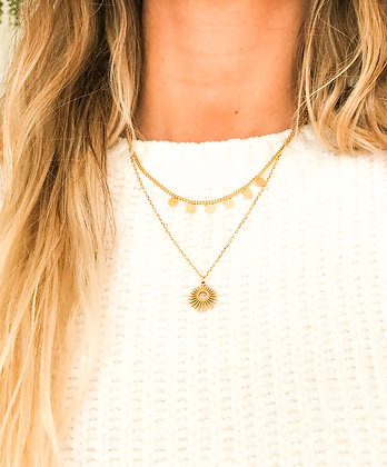 Eclipse 2 Layers Necklace