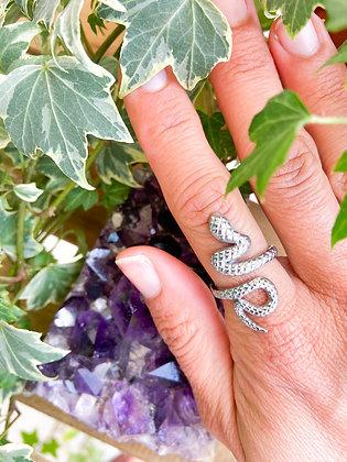 Força Vital Silver Ring