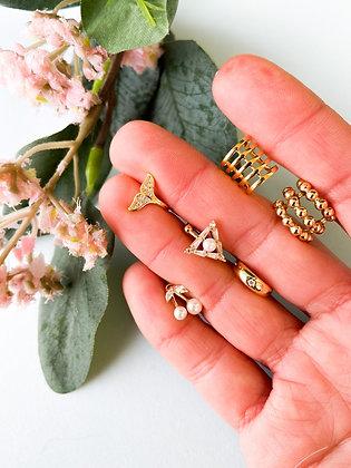 Gold Earcuffs