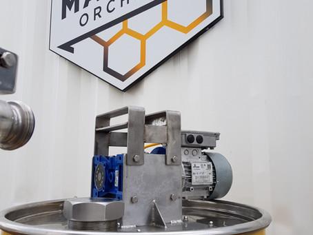 Manuka Engineering Drum Stirrer