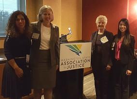 Inspiring Women to New Heights - Attorney Ada Wong Speaks at the WSAJ Women of Washington Retreat