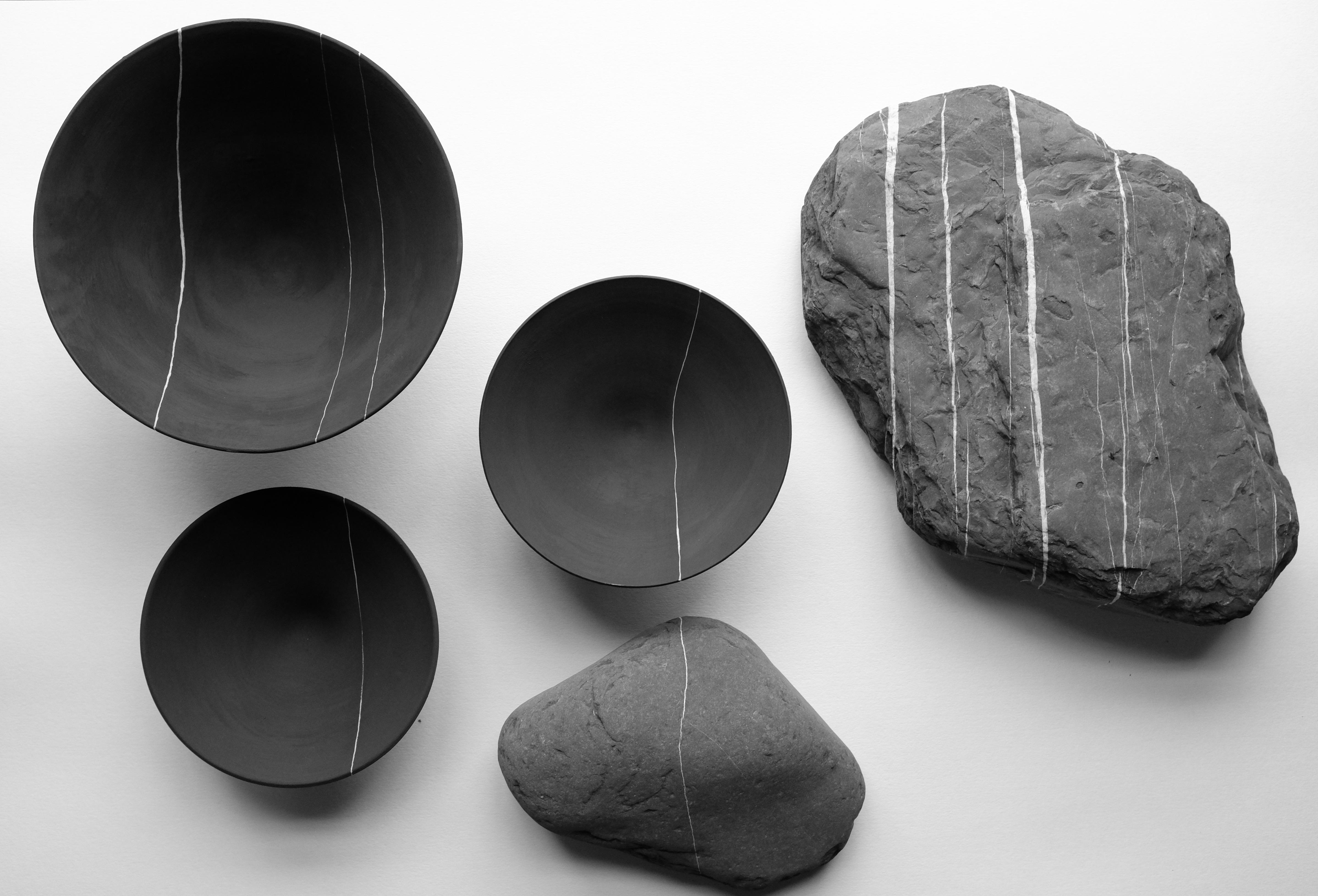 Strata bowls and stones