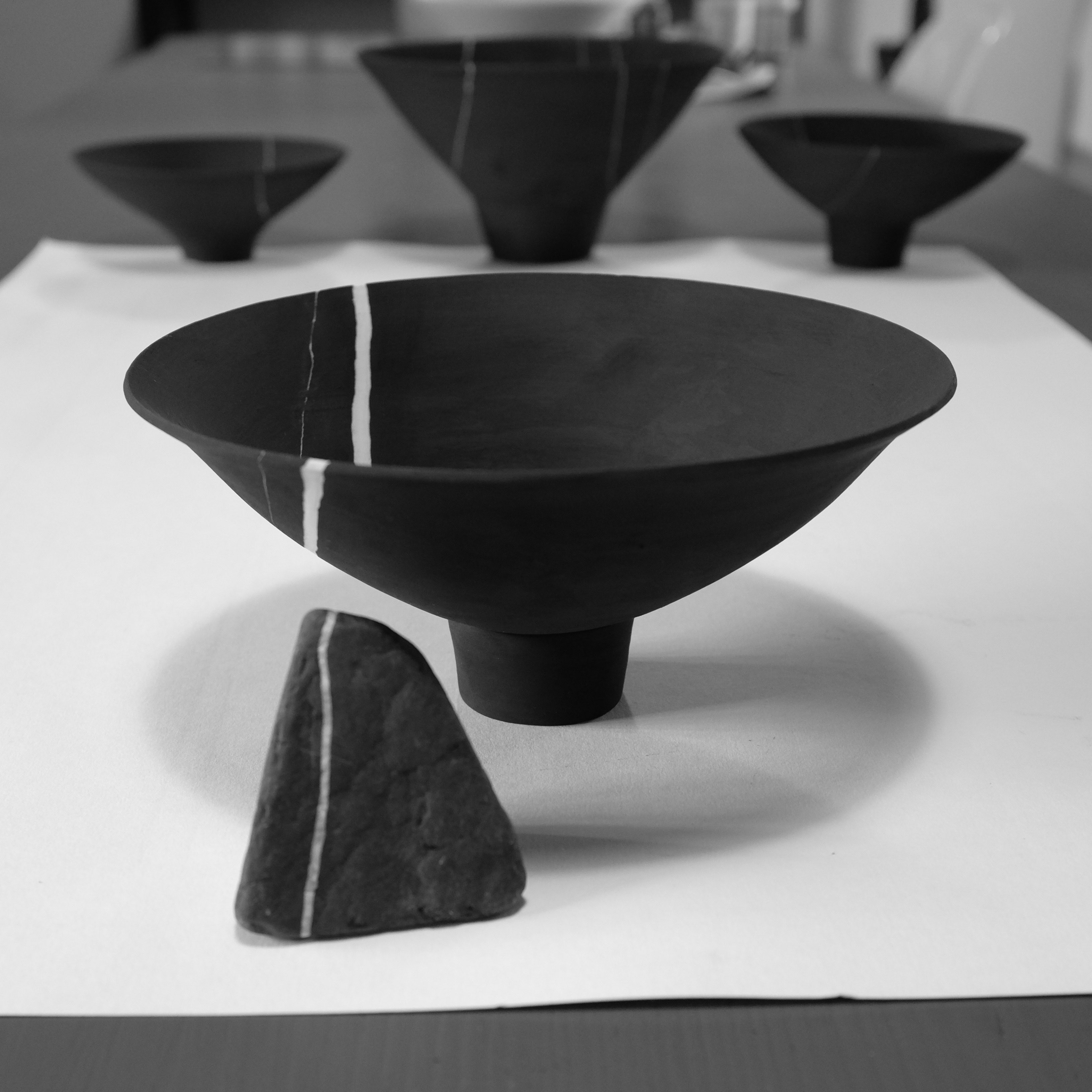 Strata bowl and stone
