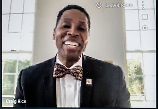 3. Gala Master of Ceremonies Craig Rice'