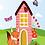 Thumbnail: Postcard - The house of the fox