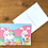 Thumbnail: Postcard - Easter bunnies and eggs