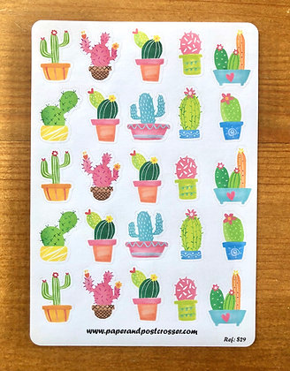 Stickers - Cactus party