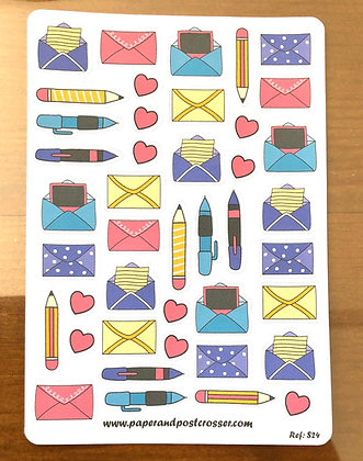 Stickers - Pretty snailmail