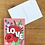 Thumbnail: Postcard - Flowers / Love