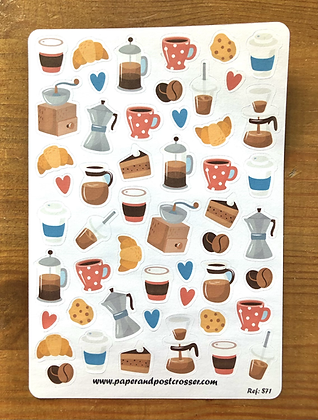 Stickers - Coffee break